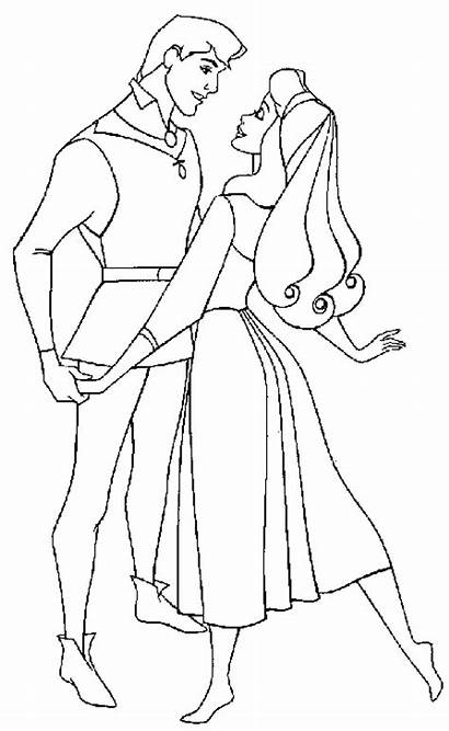 Sleeping Beauty Coloring Pages Coloringpages1001 Rose Sheets