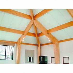 Panneau isolant chevronné pour toitures en pente ventilées