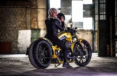 Harley Davidson Thunderbike Motorcycle Breakout Silverstone Custom