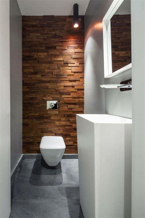 Gäste Wc Holz by Aluminium Raumteiler In Schwarz Toilette Mit Holz