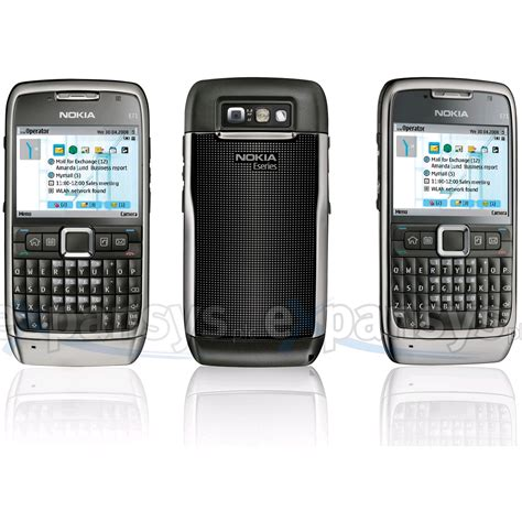 Larger Image for Nokia E71 (UK, Grey Steel)  Expansyscom UK