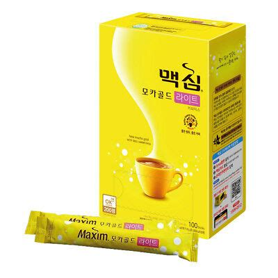 I have fun and sometimes scare myself filming these videos. Korean Instant Coffee Mix maxim Mocha Gold Light Low Sugar ...