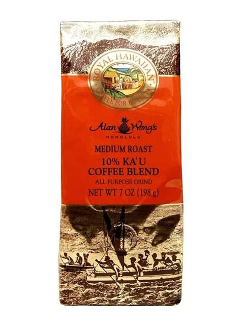 To make a good shot of espresso, your beans need to be very finely ground so the coffee can survive the high pressure and hot water during the brewing. Royal Hawaiian 10% Kau Whole Bean Medium Roast Coffee 7oz ...