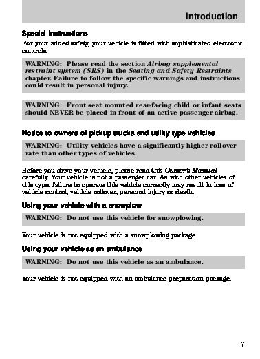 2008 Mazda B Series B 4000 Owners Manual