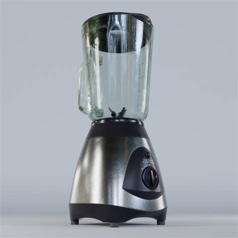 Kitchen Blender Sound Effect by 3d Blender Kitchen Model Turbosquid 1219735