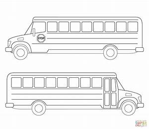 Awesome School Bus Safety Coloring Pages With Page And ...