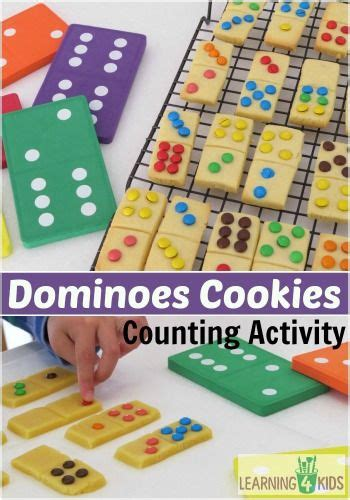 Learning to count with Dominoes Cookies | Fun cooking ...