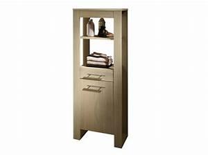 Meuble Salle De Bain Rangement : meuble de rangement salle de bain alinea ~ Dailycaller-alerts.com Idées de Décoration