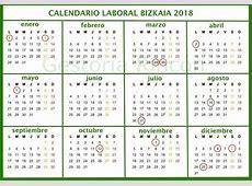 Calendario laboral Bizkaia 2018 Gestoría Rincón