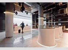Office New Cathay Pacific Airport Lounge Design by Foster