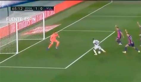GOL Real Madrid vs Valladolid EN VIVO de Vinicius por el 1 ...