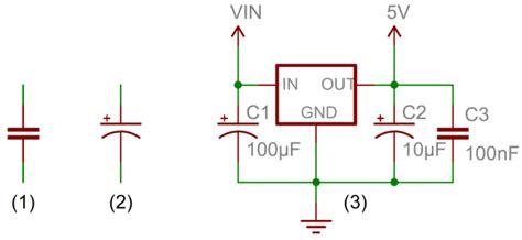 Polari Voltage Regulator Wiring Diagram by Condensatori Cosa Sono E Come Funzionano Progetti Arduino