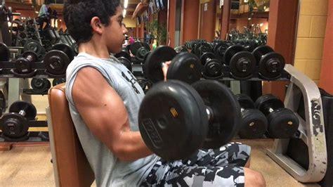 biggest biceps   years  youtube