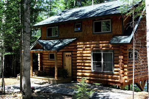 rental cottage log cabin rental near lake placid