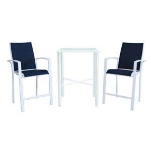 shop allen roth 3 piece glass patio dining set at lowes com