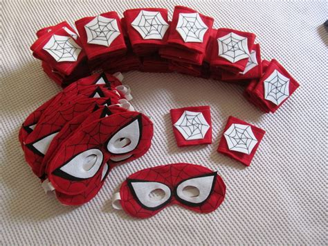 Kit Homem Aranha Máscara E Bracelete no Elo7 Atelier