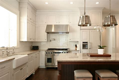 HD wallpapers backsplashes for white kitchens