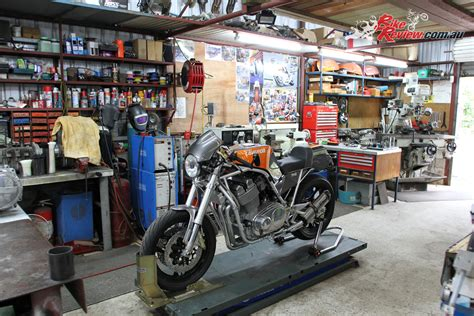 aussie workshop redax laverda bike review