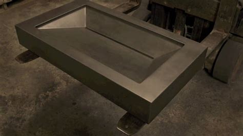square bathroom sink concrete sink molds create your own concrete sink for
