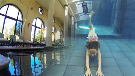 carla underwater amazing  swimming pool youtube