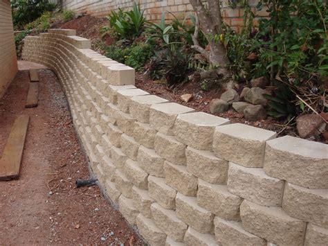 block retaining wall australian retaining walls windsor concrete link block retaining wall australian retaining walls