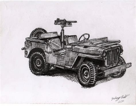 World War 2 Jeep By Shank117 On Deviantart