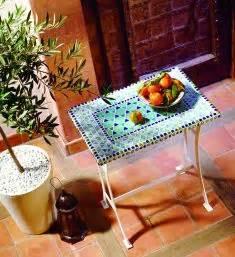 mosaiktisch mit stühlen mosaiktisch selber machen selbst de