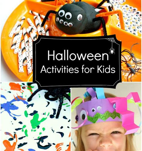 Halloween Activities For Kids  Fantastic Fun & Learning