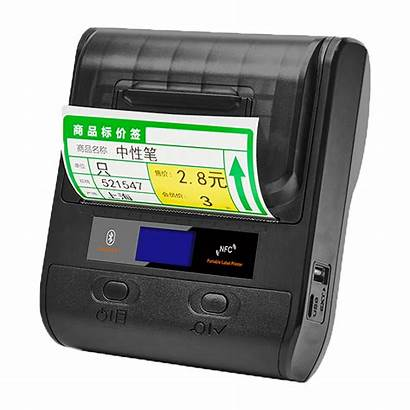 Printer Thermal Bluetooth Portable Mobile Label Wireless