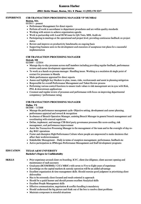 sle resume format for experienced bpo professionals