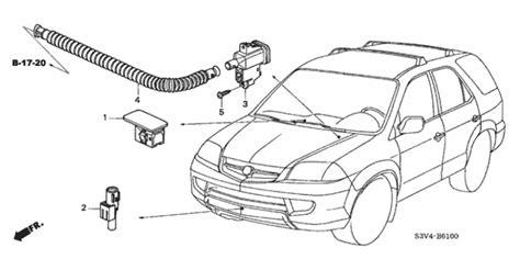 auto air conditioning service 2003 acura mdx auto manual a c sensor for 2003 acura mdx 5 door acura oem parts