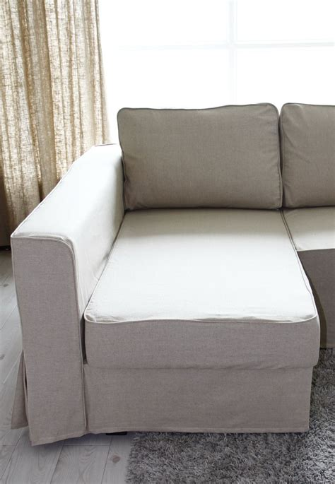 slipcovers that fit pottery barn sofas loose fit linen manstad sofa slipcovers now available
