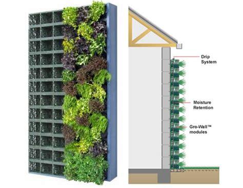Vertical Garden Construction by Gro Wall Vertical Garden From Atlantis Water Management