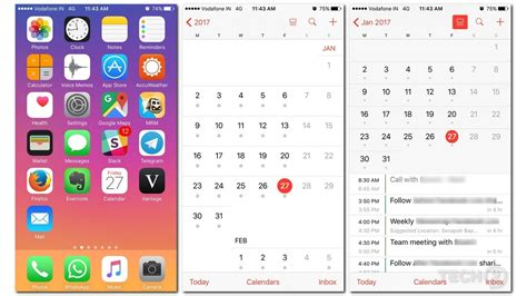best schedule app for iphone app review vantage is the coolest ios calendar app on the