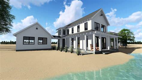 Modern Farmhouse Cabin House Plan By