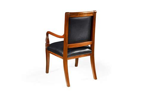 Oak Wood French Desk Chairs