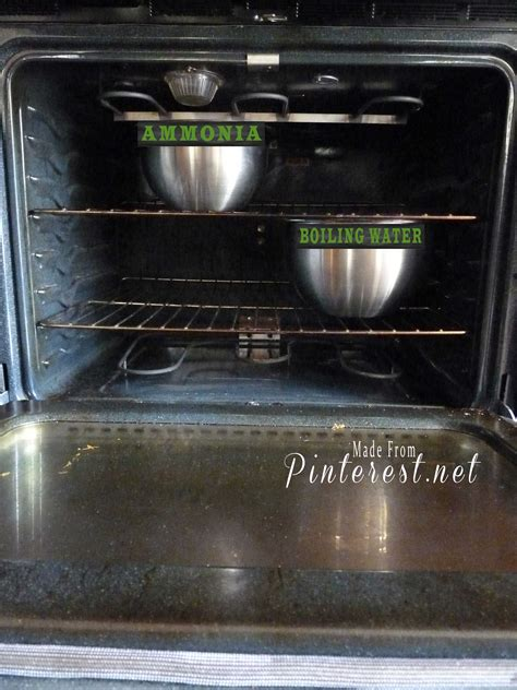 how to clean oven racks with ammonia oven cleaning the magic way made from