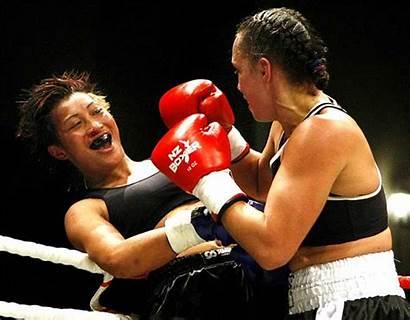 Fighting Daniella Smith Nive Boxing 2008 Wrestling