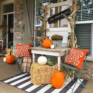 Fall, Porch, Decor, Ideas, Anyone, Can, Pull, Off, This, Year