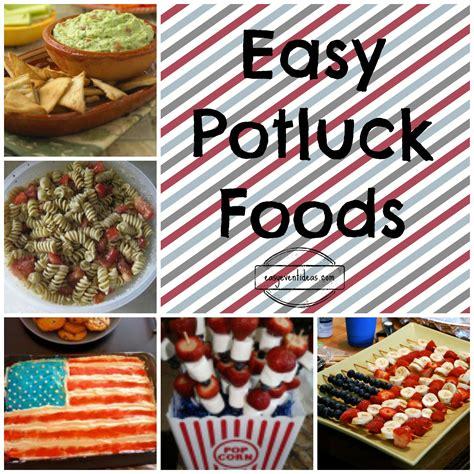 Easy Potluck Food Ideas