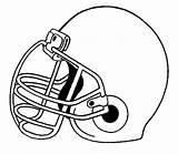Football Coloring Pages Printable Sheet sketch template