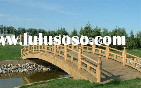 diy wooden garden bridge for sale plans free