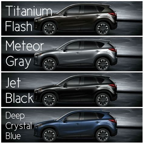 mazda cx5 colors 2016 mazda cx 5 exterior color options