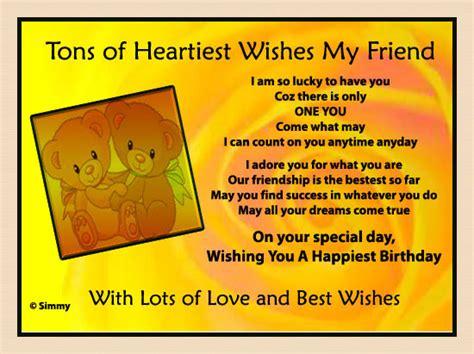 tons  heartiest wishes   friend    friends ecards