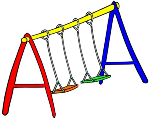 swing sets swingset clipart clipground
