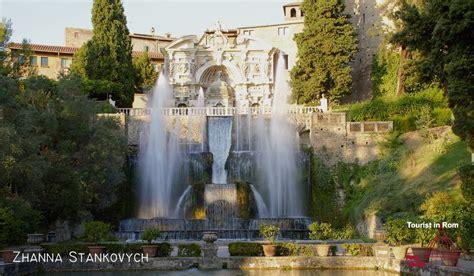villa d este villa d este in tivoli 183 info and photo gallery 183 tourist