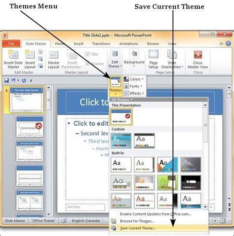 save design template  powerpoint