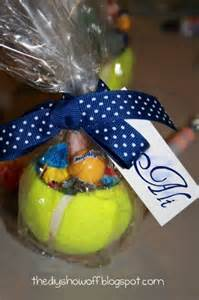 candle gift baskets tennis party favors tennis party ideas