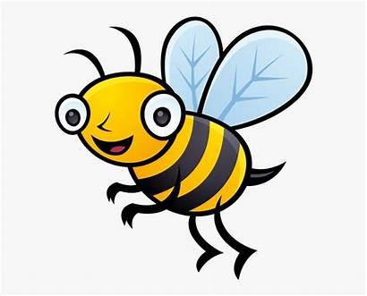 Bee Bumble Cartoon Bumblebee Clip Netclipart