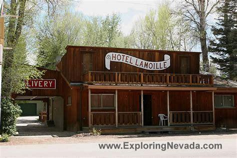 Photographs of Lamoille, Nevada : The Hotel Lamoille
